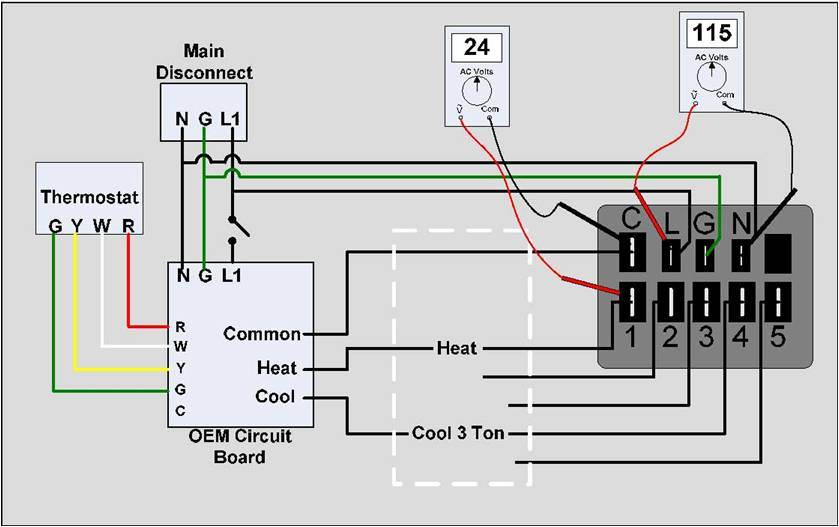 emc motors wiring diagram hvac