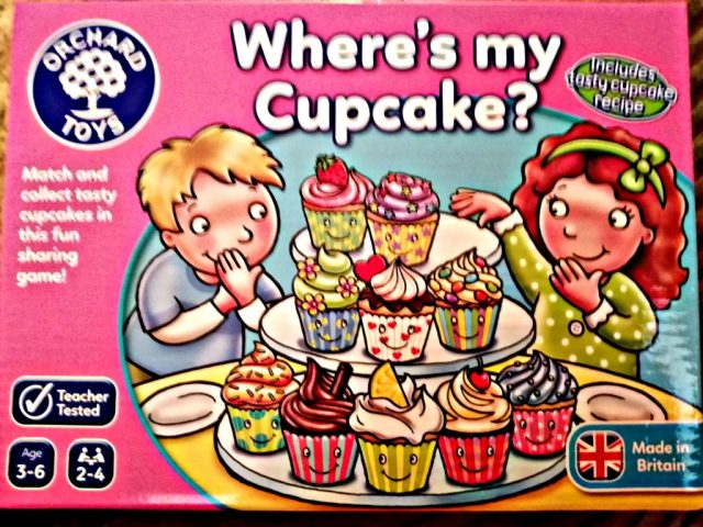 The board game, 'Where's my Cupcake'.