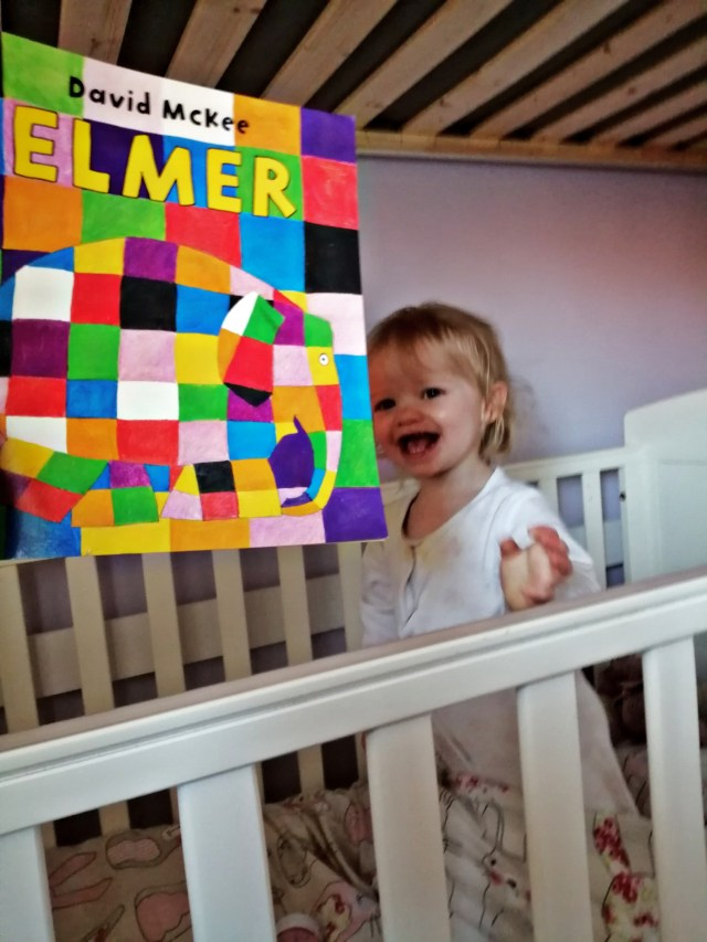 A fast becoming favourite story in my toddlers bedtime routine is Elmer the patchwork elephant.
