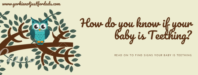How do you know if your baby is Teething.