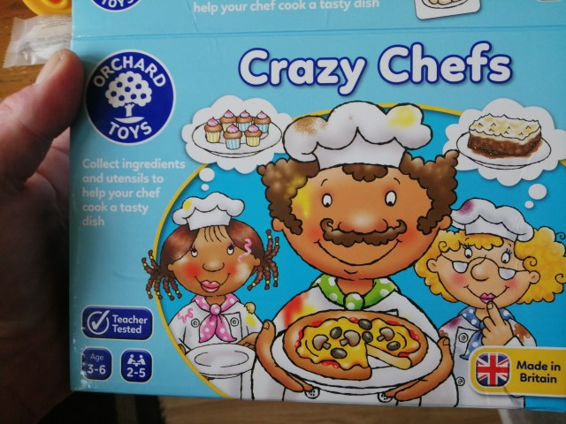 Crazy chefs a game for more the younger children.