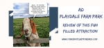 Featured image for my post reviewing Playdale Farm