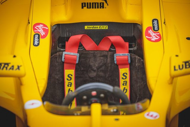 An image of the Drivers seat, a Snug fit but ideal for any potential owner of the 2002 Jordan Honda EJ12.