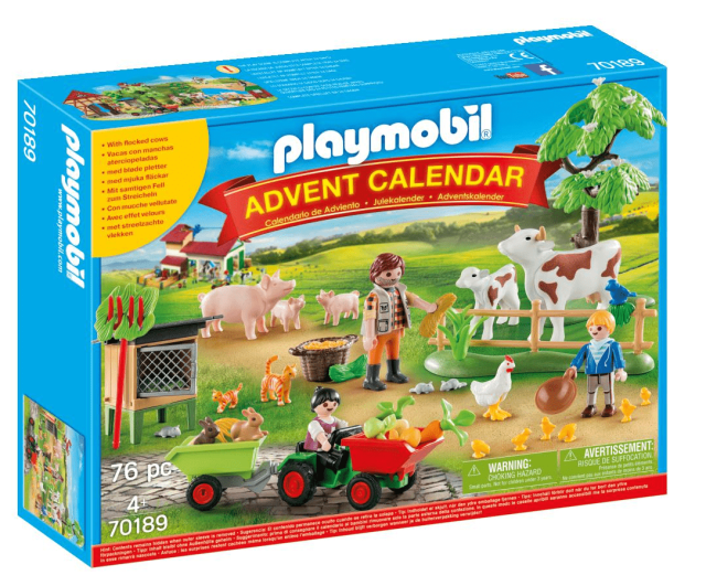 Down on the Farm70189 from Playmobil range of Toy Advent calendars featured in my Toy-Tastic Advent Calendars Guide.