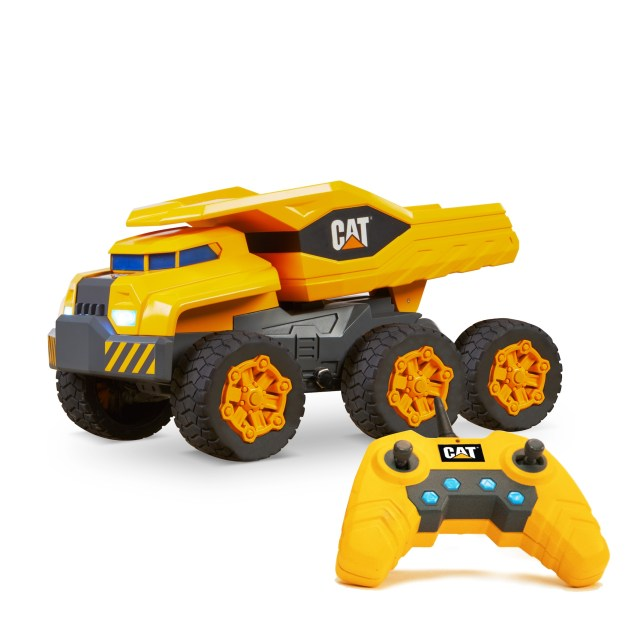 The Big Boy, one of the great fun Boys Toys for Christmas is this CAT Massive Mover RC.