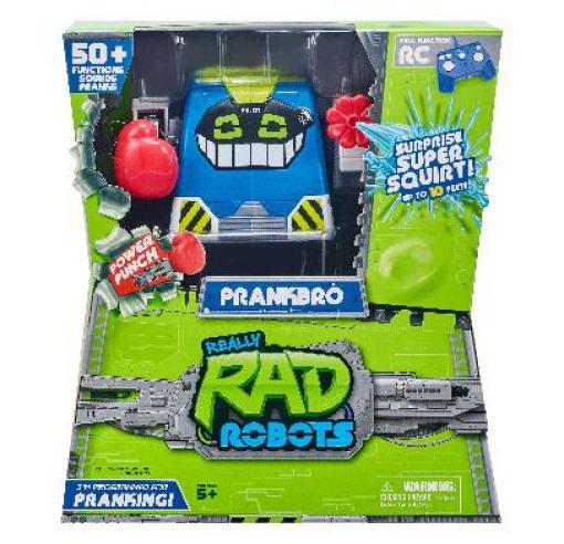 Here is the Really Rad Robots from PrankBro's, one of the Top Boys Toys for Christmas if your child is into pulling pranks.