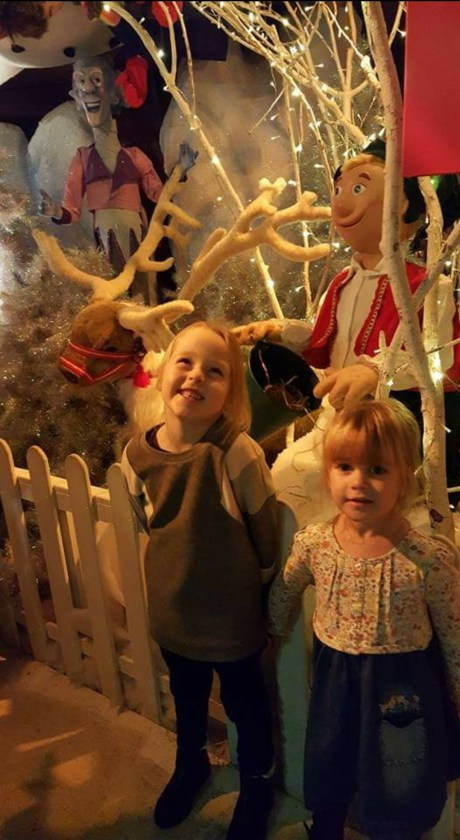 Heading through the Festive Set up at Boyes store in Scarborough to see Santa at the Grotto. Visiting santa is our favourite Family Christmas Traditions.