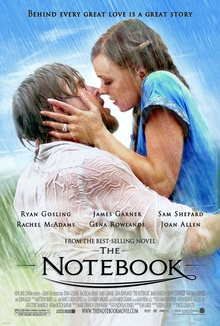 The notebook, a truly gripping love story and a must in the line up of Films to watch on Netflix on valentines day.