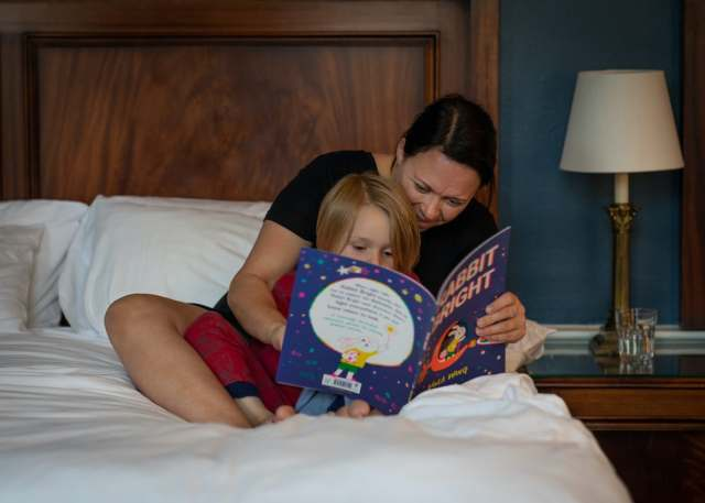 Adapting your child's bedtime routine right away will help with the clock change.