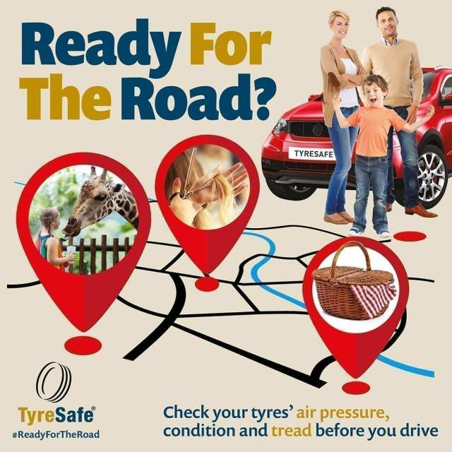 Tyre Safe have released some safety tips to make sure your car is Ready for the Road this spring.