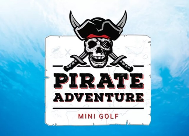 The Pirate Adventure Golf in Scarborough is a great activity for the whole family.