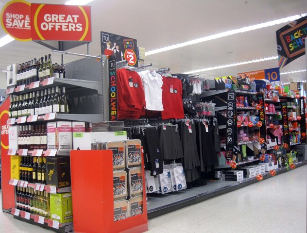 TU at Sainsburys cater for the majority of the back to school essentials you will need for your children.