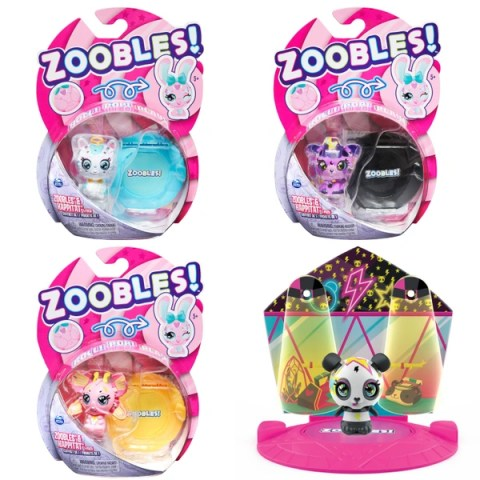 Zoobles are a cute reasonably priced collectible playset which is ideal for your kids to buy with their pocket money.