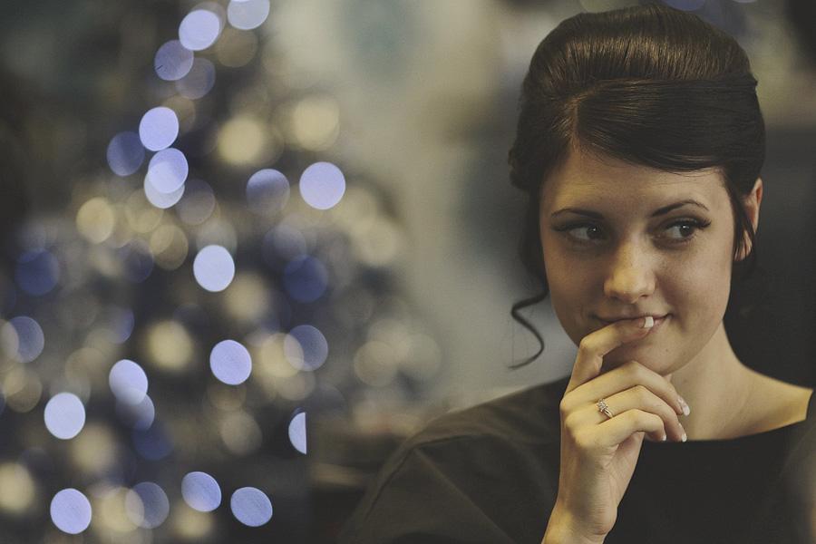 Scarborough Hairdresser with bride