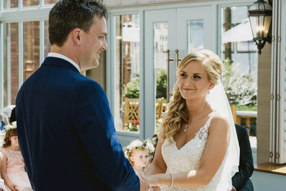 Rockliffe Hall wedding ceremony