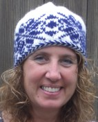 Blue Selbu knitted hat
