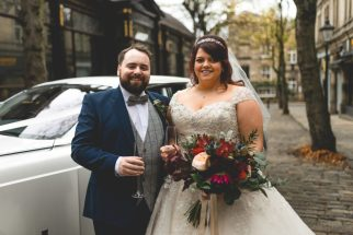 Adam and Elfie's Wedding Day. Photo: Peace Photography