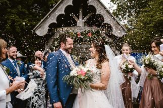 Chris and Jess' Wedding. Photo: Georgina Brewster Photography