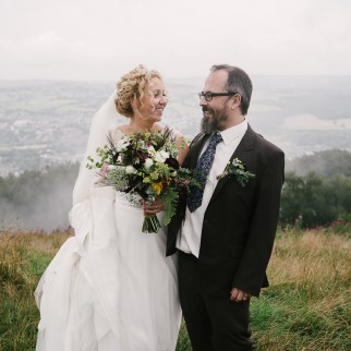 Sam and Kirsty's wedding. Photo: Mark J Hillyer Photography