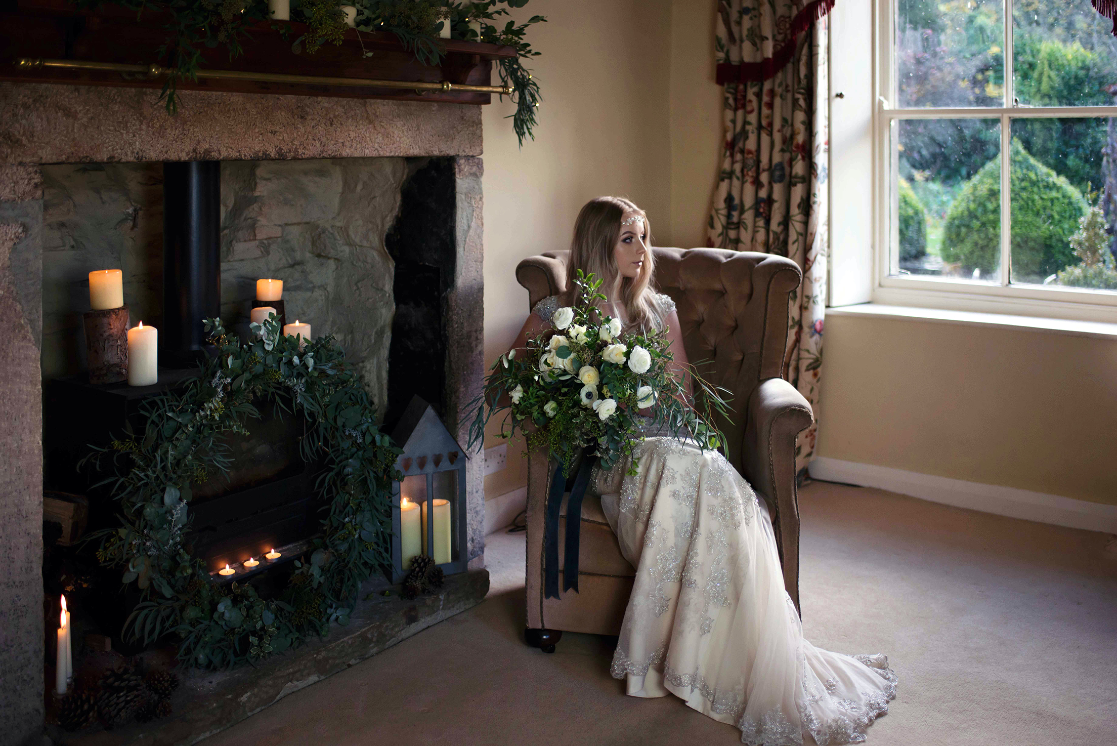 Brides Up North – Winter Hygge: A Rustic Wedding Styled Shoot In Yorkshire