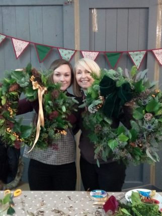 Christmas Wreath Workshop December 2017
