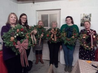 Christmas Wreath Workshop 2017