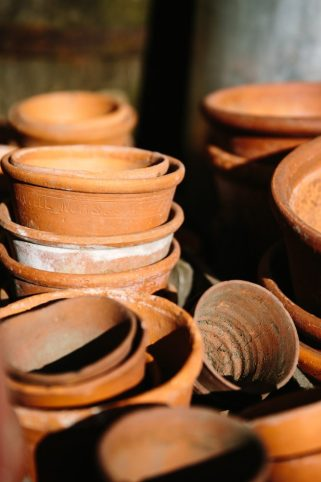 Old Terraccotta Pots