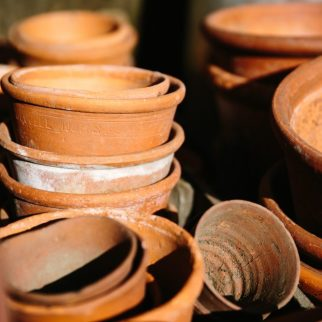 Old Terraccotta Pots