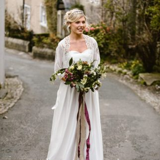 Hellebore Bouquet. Photo: Georgina Brewster Photography