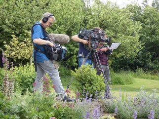 Film Crew, Garden, ITV, Florist