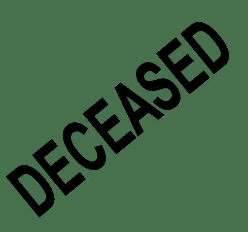 Beverley Deceased