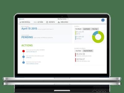 payroll dashboard macbook