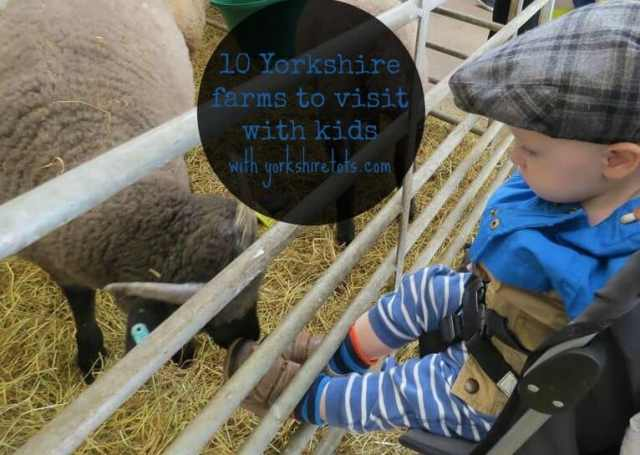 yorkshire farms to visit with kids