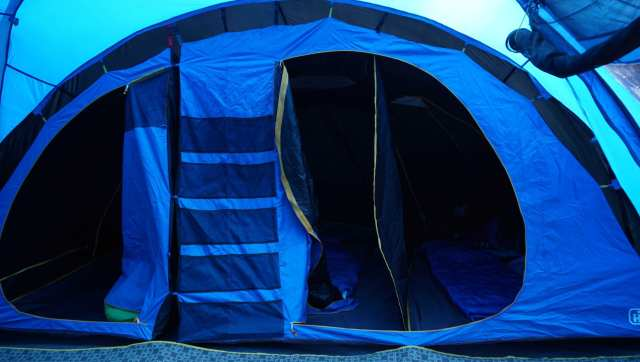 Voyager Hi Gear Eclipse 6 man family tent first set up
