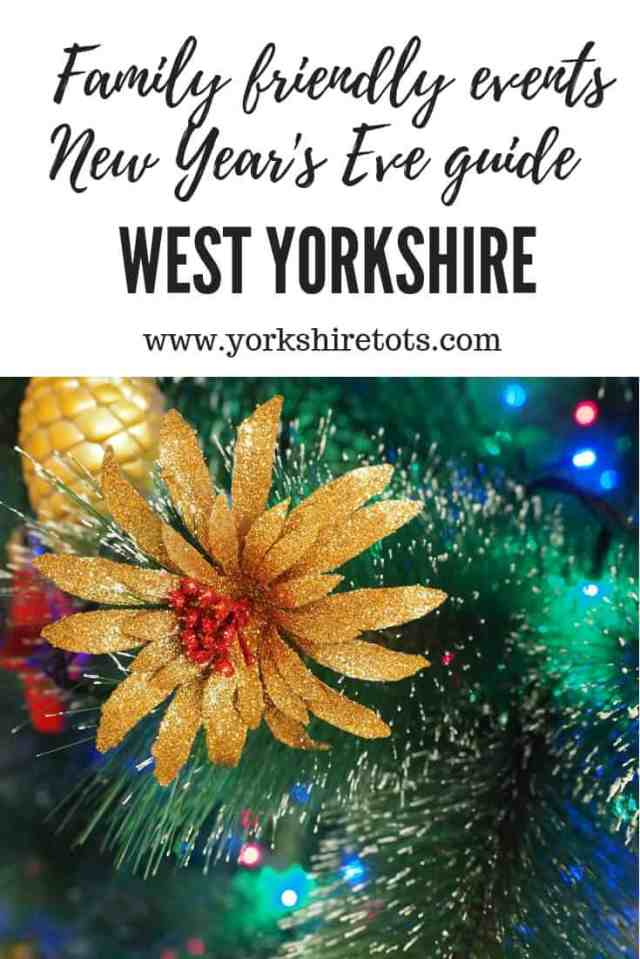 New Years eve with Kids West Yorkshire Pin