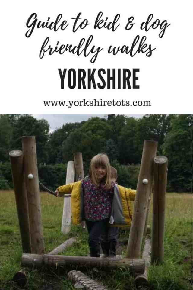 Yorkshire Walks for families guide girl at Bolton Abbey