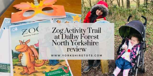 zog activity trail in north yorkshire