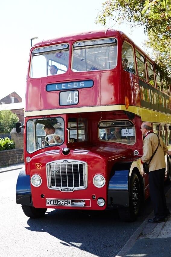 Vintage Bus Day Yorkshire Totsyorkshire Tots