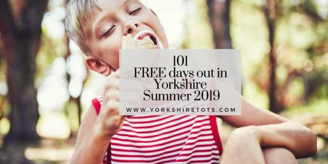 free days out in Yorkshire summer