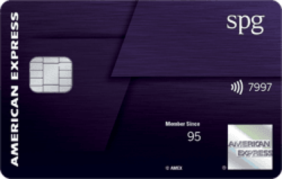 Starwood Preferred Guest American Express Luxury Card