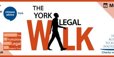 York Legal Walk – 28th June 5.00pm