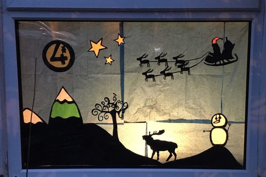 'Living' Advent Calendars: The Lockdown Christmas trend lighting up the streets of Leeds