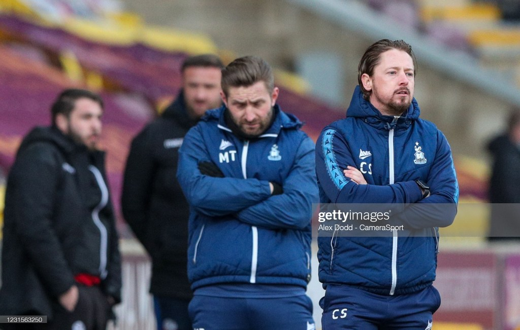 """""""We trust the players"""" – Conor Sellars and Ollie Crankshaw in pre-Tranmere press conference"""