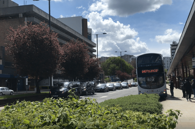 Bradford taxi drivers protest Clean Air Zone charges