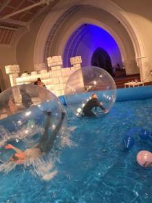 Carnival Zorb Pool