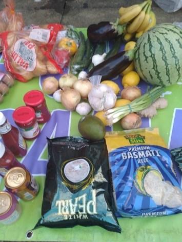 Food Bank XMas Dinner 2020
