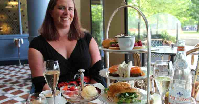 Champagne Afternoon Tea at The Ivy, Tower Bridge, London