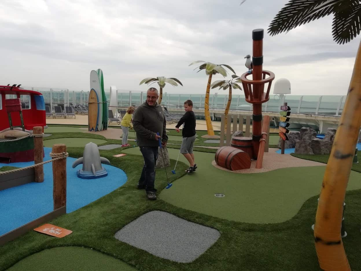 Laser Tag and Mini Golf – New Independence of the Seas