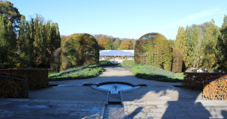 An Autumnal Day at the Alnwick Garden