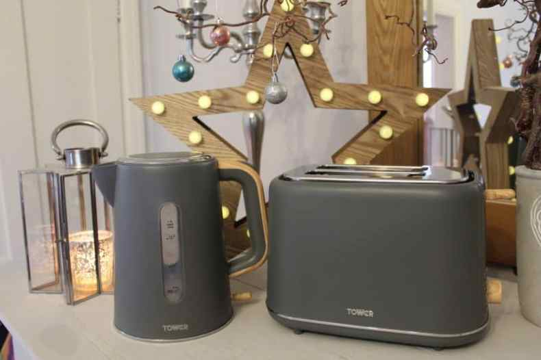 Tower Scandi Kettle and Toaster